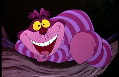 Disney Analogies for Internet Marketing Roles:  The Cheshire Cat from Alice in Wonderland