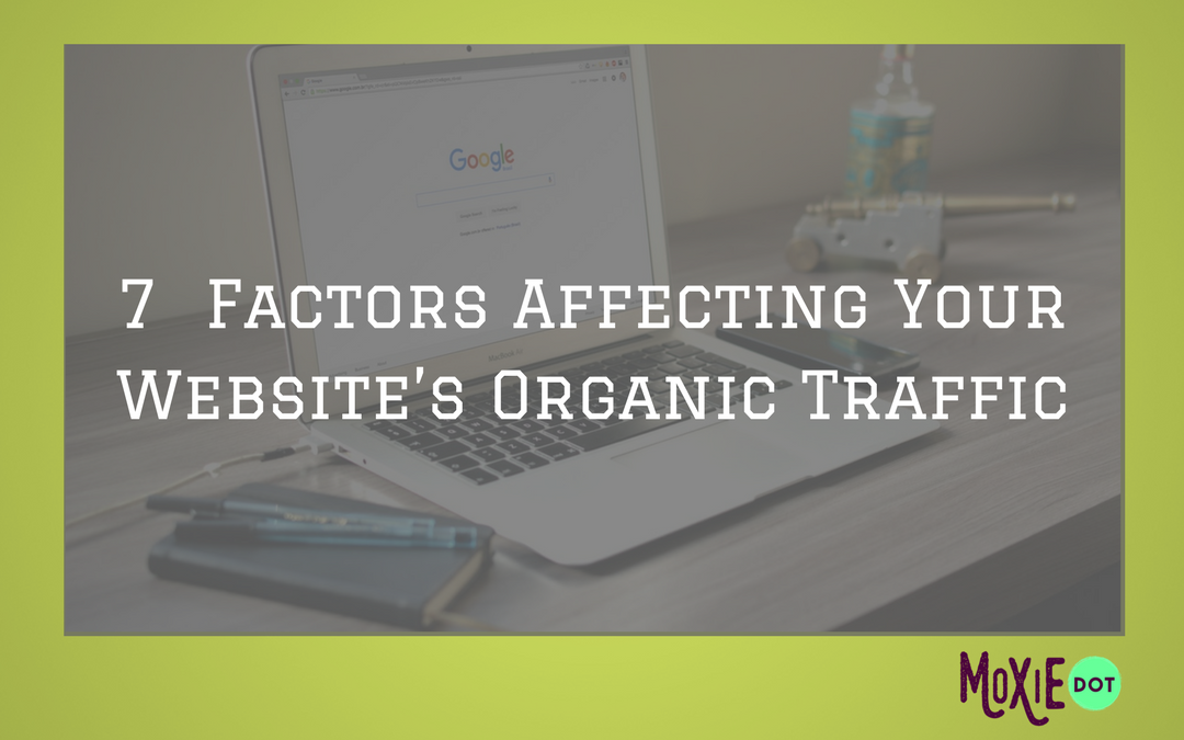7 Factors Affecting Your Website's Organic Traffic