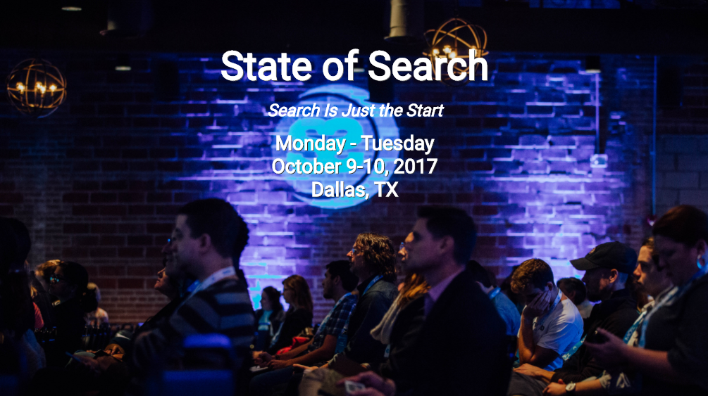 Founder Kelsey Jones Speaking at State of Search Conference (Oct. 9-10, 2017)