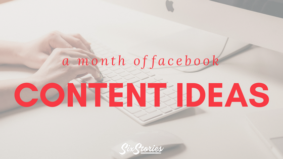 A month of facebook content ideas malvernweather Image collections