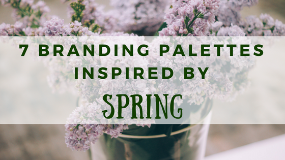 7 Branding Color Palettes Inspired By Spring