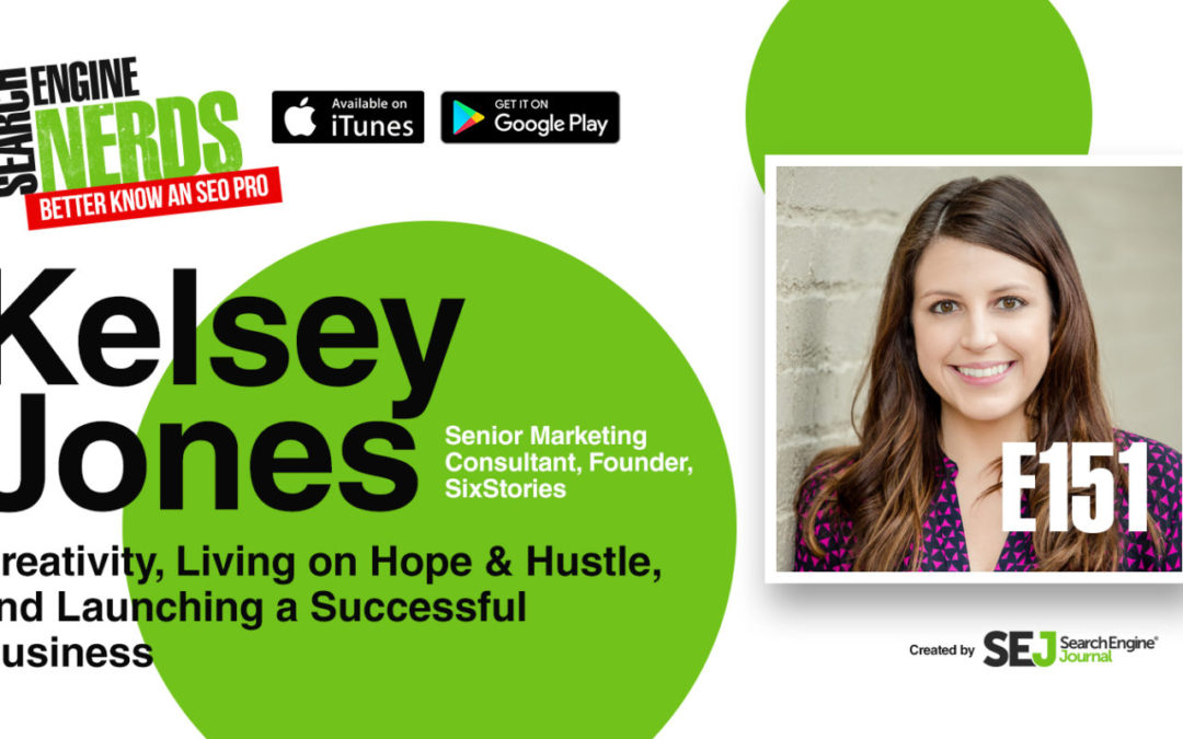 "Founder Kelsey Jones Featured on SEJ's 'Better Know an SEO Pro"" Podcast Series"